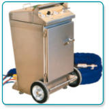 mobile cleaning machines for facades, cars and boats
